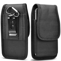 Vertical Phone Holster Pouch Wallet Case with Belt Clip Loop