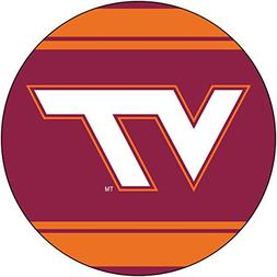 "Virginia Tech Hokies 4"" Round Magnet"