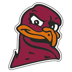 Virginia Tech Magnet HOKIE HEAD MAGNET 3""