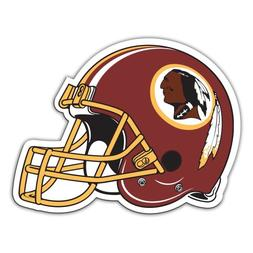 "Washington Redskins 12"" Helmet Car Magnets - Set of 2"
