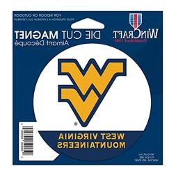 "West Virginia Mountaineers Official NCAA 4.5""x6"" Car Magnet"