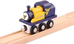 West Virginia Mountaineers College Team Train