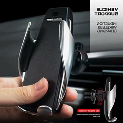 Wireless Car Charger Fast Bracket Magnetic Holder For iPhone