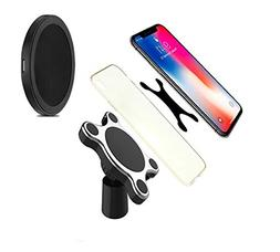 Wireless Magnetic Car Charger & Mount, Compatible with Apple