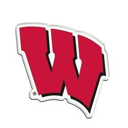 "Wisconsin Badgers Official NCAA 2.5"" Acrylic Magnet by Wincr"