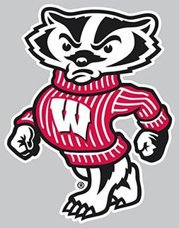 Wisconsin Badgers Team Logo Car Decal