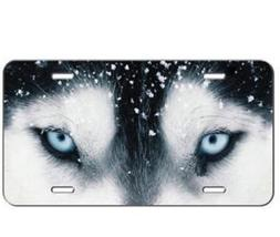 Custom License Plate WOLF EYES Auto Tag