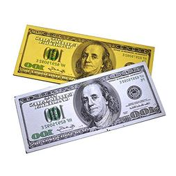 2PCS x $100 Bill One Hundred Dollar Lucky Money Magnet US So